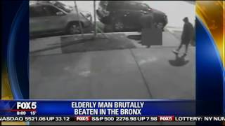 Elderly man beaten and robbed in the Bronx