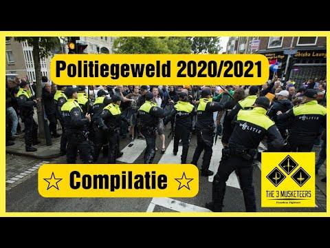 Politiegeweld 2020/2021 - Intimidatie & onderdrukking in Nederland