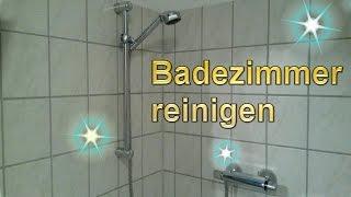 Badezimmer Putztrick - Bad Mühelos Sauber Machen - Lifehack Bad Reinigen - Dusche Putzen