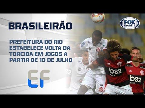 PREFEITURA DO RIO ESTABELECE VOLTA DA TORCIDA EM JOGOS A PARTIR DE 10 DE JULHO