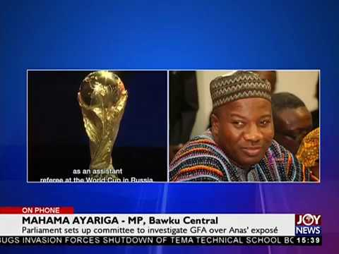 Parliament sets up committee to investigate GFA over Anas' expose - The Pulse on JoyNews (7-6-18)