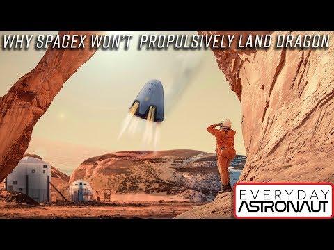 Proč nebude Dragon od SpaceX nakonec přistávat pomocí motorů?