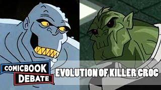 Evolution of Killer Croc in Cartoons in 10 Minutes (2018)