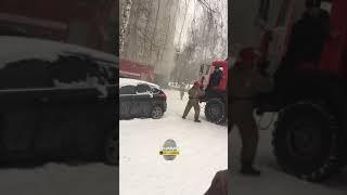 Новосибирск. Пожар в общежитии.