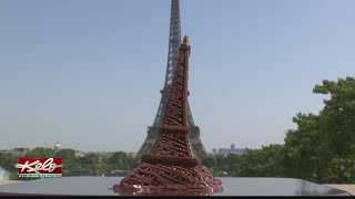 Chocolate Eiffel Tower Melts In 10 Minutes In Paris