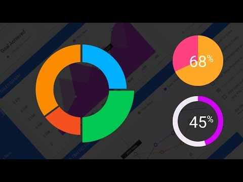 Illustrator CC Charts 2 - How to make and edit a pie chart