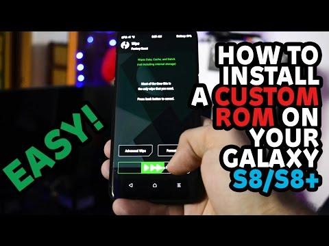 TOP 5 CUSTOM ROMS for Samsung Galaxy S8/S8+ | EP 3