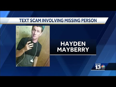 Walker County Sheriff's Office warns of text scam amid search for missing man