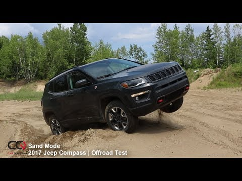 4x4 Sand Offroad Test 2017-2019 Jeep Compass Trailhawk | Review: Part 9/10