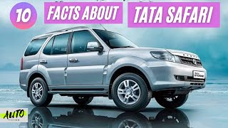 10 Facts You Didn't Know About Tata Safari | India's First True SUV