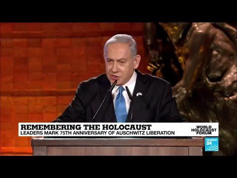 Remembering the Holocaust: Watch the Israeli Prime Minister Benjamin Netanyahu's full address