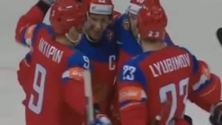 Россия - Дания 10-1 ЧМ - 2016 Все голы