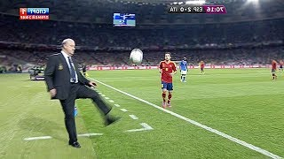 Crazy Managers Skills & Goals in Football Match