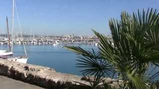 preview picture of video 'Italie Sardaigne découverte de la vieille ville fortifiée de Alghero'