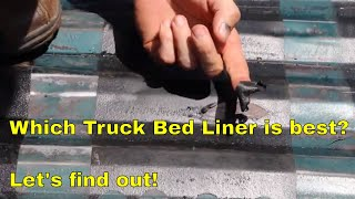 Which Truck Bed Liner is best?  Let's find out!
