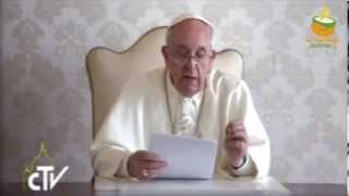Papa Francesco Campagna Caritas contro la fame nel mondo
