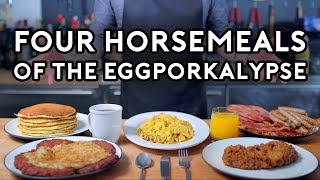 Binging with Babish: Four Horsemeals of the Eggporkalypse from Parks & Rec