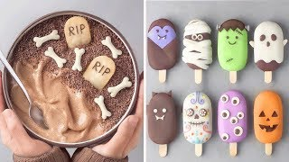 10 Creative Halloween Cake Recipes To Make This Year | So Yummy Chocolate Cake Decorating Ideas