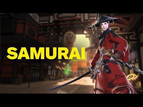 Final Fantasy 14: Stormblood – 2 Minutes of Samurai Gameplay