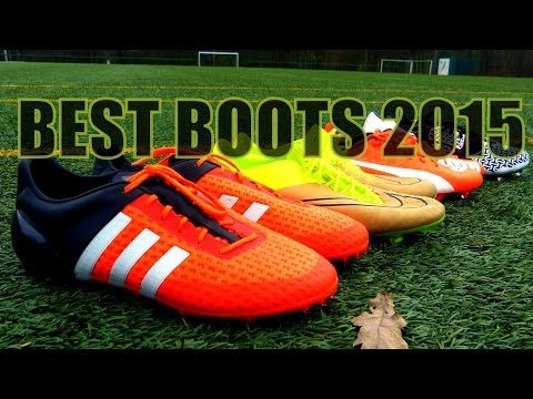 Top 5 Football Boots 2015 | Die besten Fußballschuhe 2015