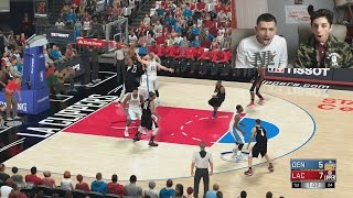 NBA 2k VS FaZe RUG!! (LOSER BET)