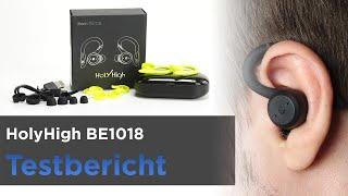 HolyHigh BE1018 - Bluetooth-Kopfhörer fürs Joggen