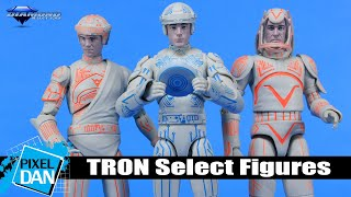 TRON Select Action Figures Review | Diamond Select