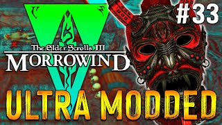 Lets Play Modded Morrowind 2021 - 400 MODS - Daedric Face Of Inspiration And Eleidons Ward - 33