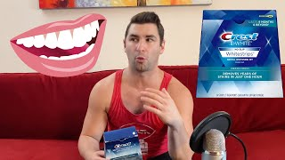 Crest 3D Whitening Strips 1 Hour Express Review ????????????