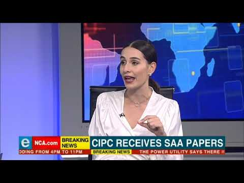 CIPC receives business rescue papers from SAA