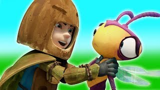 Insectibles | Battle Against Roach | Adventure Cartoon for Children by Oddbods & Friends