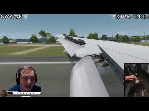 Steam Community :: Video :: [P3D] PMDG 777 at TNCM - Princes