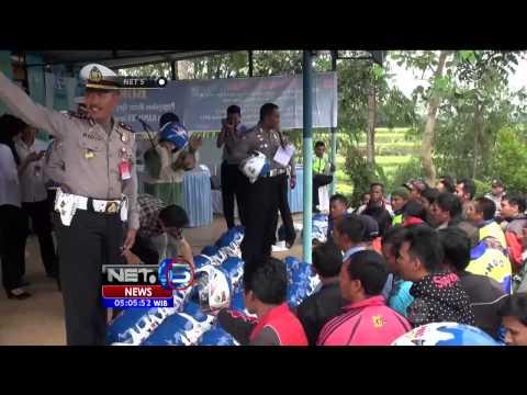 Video Ratusan Helm Gratis Untuk Tukang Ojek di Cianjur, Jawa Barat - NET5
