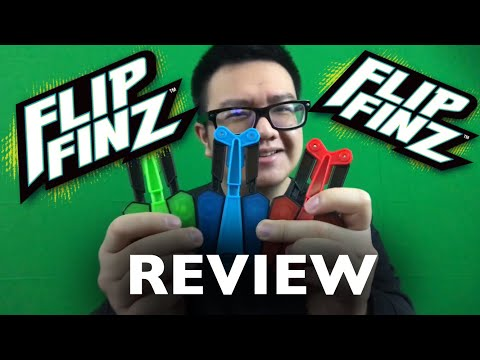 FLIPFINZ REVIEW (BALISONG TOY)