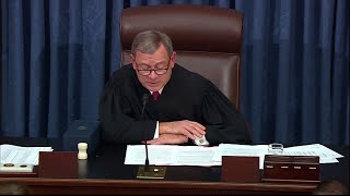 WATCH: Chief Justice John Roberts' closing statement on Trump's impeachment trial