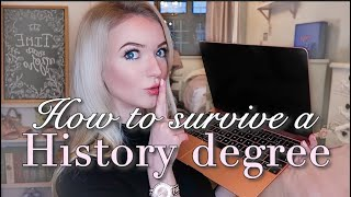 HOW TO SURVIVE A HISTORY DEGREE | Uni Top Study Tips | Revision, Essays and Presentations