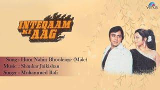 Inteqaam Ki Aag  Hum Nahin Bhoolenge  Male Full Audio Song  Vinod Mehra Kajal Kiran