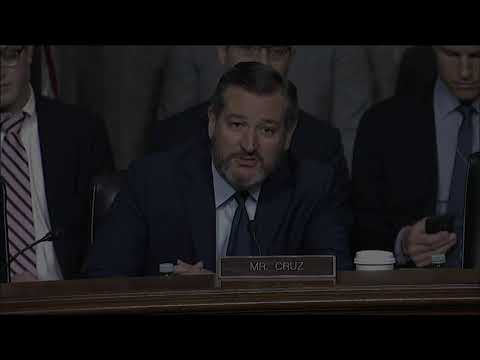 PREVIEW: Cruz to Question Boeing CEO on 737 MAX Crashes at Senate Commerce Hearing