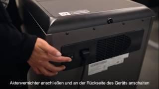 Aktenvernichter AutoMax 300C & 500C Video Bedienungsanleitung