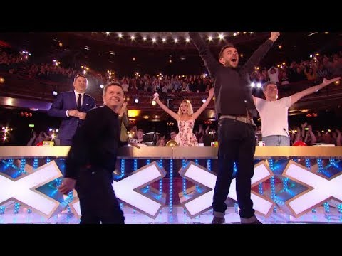The First Golden Buzzer Britain's Got Talent 2018 | Magic & Emotion Membuatmu Menangis