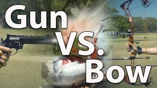 Demolition Ranch vs. ArcheryTalk (Gun vs. Bow)