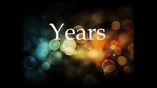 Years - Alesso Feat. Matthew Koma Lyrics