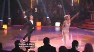 Chelsea Kane & Mark Ballas dancing with the stars WK1 Foxtrot