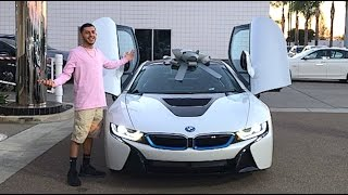 MY BRAND NEW CAR!! BMW i8