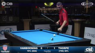 USBTC 10-Ball: Shane Van Boening vs Billy Thorpe