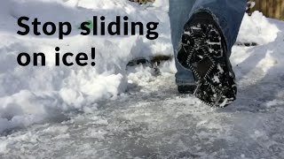 How to Stop Shoes from Sliding on Ice: $15 Yaktrax Product Review
