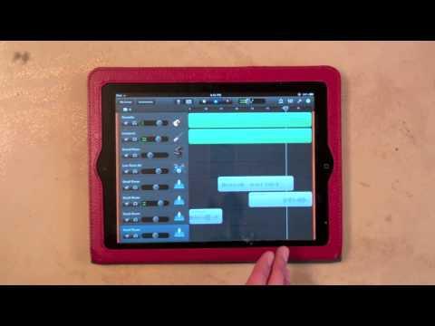 nickasaur! Made A Song on GarageBand for iPad.