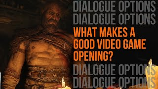 What makes a good video game opening?