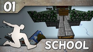 PARKOUR SCHOOL #1 | HELPOSTA RAGEEN!   W Glyffi