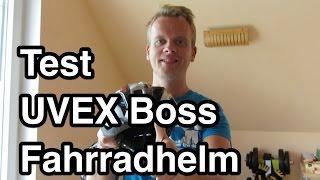 Test Uvex Boss Compact Fahrradhelm   Fahrradhelm Test   MTB Helm Test   leichter Fahrradhelm